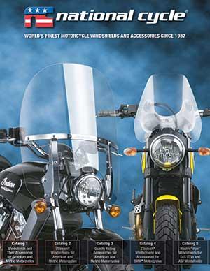 National Cycle Parabrezza moto