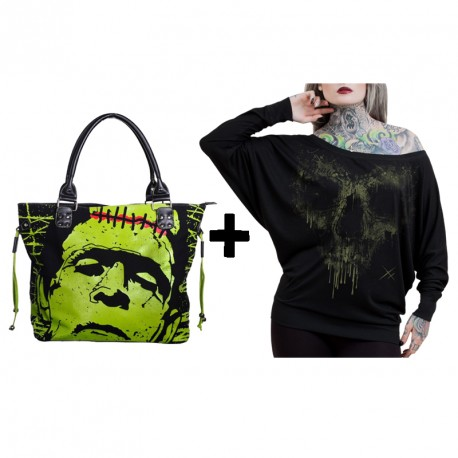 GREEN HORROR LADY CHRISTMAS PACK