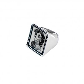 VINTAGE DEAD GIRL FRAME RING