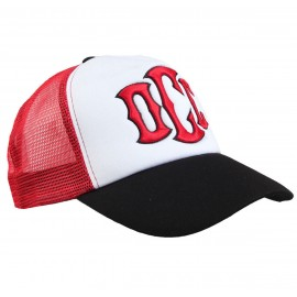 CAPPELLO ORANGE COUNTY CHOPPERS TRUCKER WHITE/RED