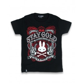 T-SHIRT BABY STAY GOLD