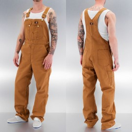 SALOPETTE OVERALL DB100 BROWN