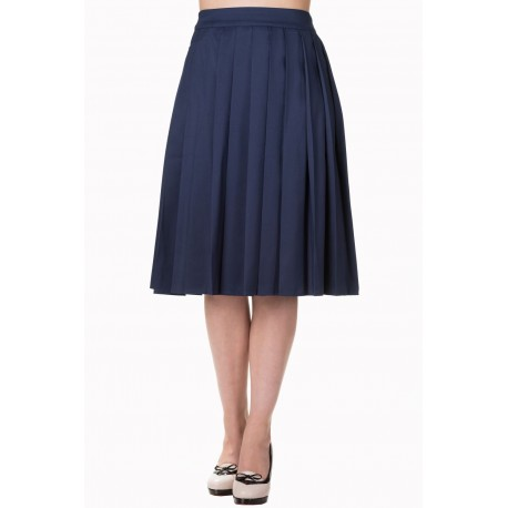 TAKE A HIKE SKIRT BLUE NAVY
