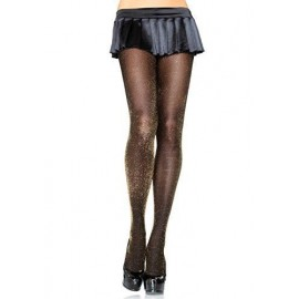 TIGHTS LUREX GOLD