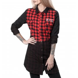 VALHALLA WOMAN CHECK SHIRT