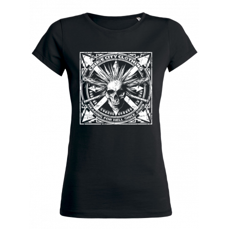 HEADING FOR HELL WOMAN T-SHIRT