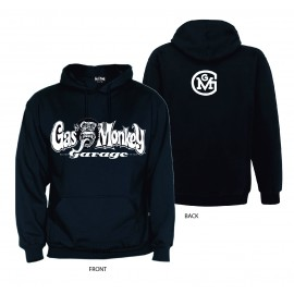 FELPA CAPPUCCIO GAS MONKEY GARAGE BACK LOGO