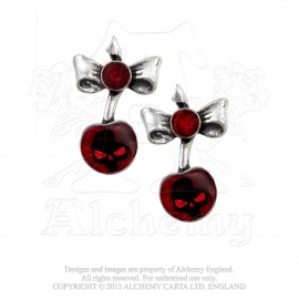 ORECCHINI BLACK CHERRY