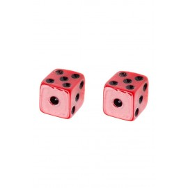 RED DICES EARRINGS