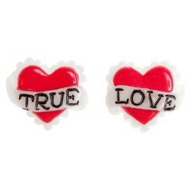 TRUE LOVE HEART EARRINGS
