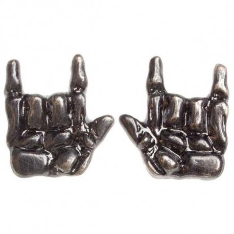 HORNS UP EARRINGS