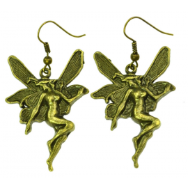 VINTAGE FAIRY EARRINGS