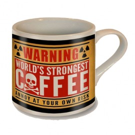WORLD STRONGEST COFFEE MUG