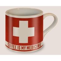 MUG COFFEE IS MY MEDICINE
