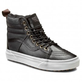 SK8-HI 46 MTE PEBBLE LEATHER BLACK