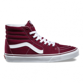 SK8-HI PORT ROYAL BORDEAUX TESSUTO