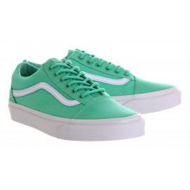 OLD SKOOL BISCAY GREEN/WHITE