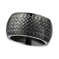 BLACK WEEL STEEL RING