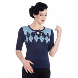 PULLOVER CHANTAL NAVY BLUE