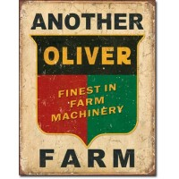 ANOTHER OLIVER FARM TIN SIGN