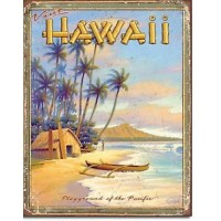 HAWAII PLAYGROUND TIN SIGN