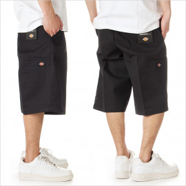"PANTALONI CORTI WORK SHORTS MULTI POCKET 13"" NERO"