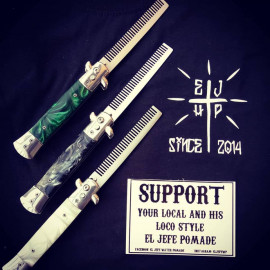 EL JEFE SWITCHBLADE COMB BLACK