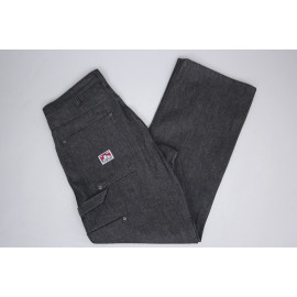 CARPENTER BLACK DENIM PANTS