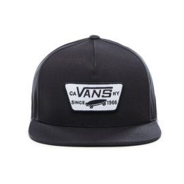 CAPPELLO DA BASEBALL SNAPBACK FULL PATCH NERO