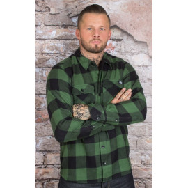 SACRAMENTO LONG SLEEVE SHIRT PINE GREEN