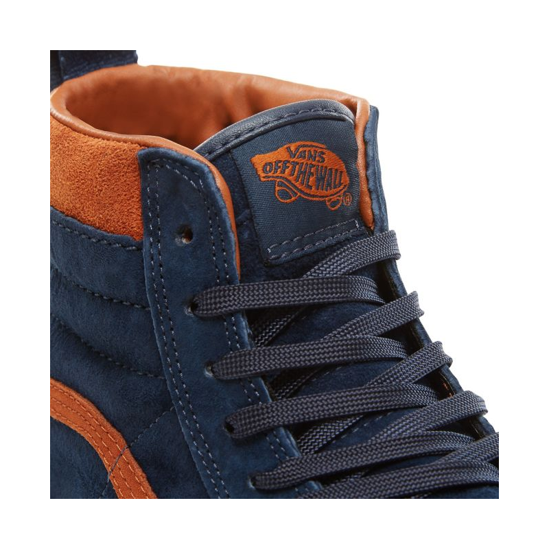 SK8-HI MTE SUEDE DRESS BLUE - Rust Factory 601b2a361