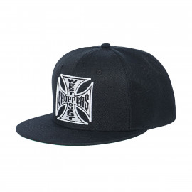 CAPPELLO ORIGINAL CROSS SNAPBACK NERO