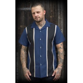 TWO STRIPES MOONLIGHT BLUE SHIRT