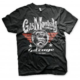 T-SHIRT GAS MONKEY GARAGE FLYING HIGH