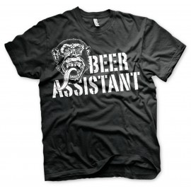 T-SHIRT GAS MONKEY GARAGE BEER ASSISTANT
