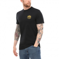 T-SHIRT VANS HOLDER STREET BLACK-OLD GOLD