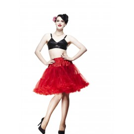 SHORT PETTICOAT RED