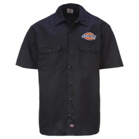 CLINTONDALE SHORT SLEEVE WORK SHIRT BLACK