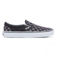 SLIP ON CHECKBOARD BLACK/GREY