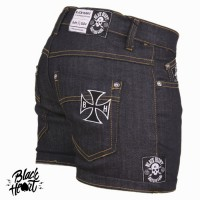 SHORTS DENIM CROSS