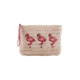 ANA FLAMINGO CLUTCH