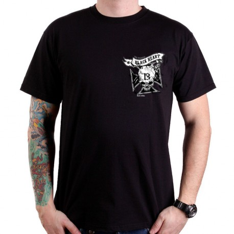 T-SHIRT SKULL CROSS