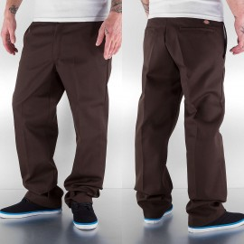 PANTALONI 874 REGULAR FIT MARRONE SCURO