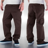 874 PANTS REGULAR FIT DARK BROWN
