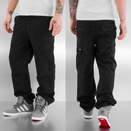 PANTALONI CARGO NEW YORK BLACK
