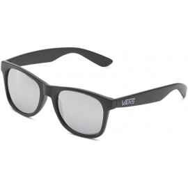 SPICCOLI 4 SHADE MATTE BLACK/SILVER MIRROR SUNGLASSES