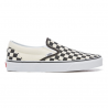 SLIP ON CHECKBOARD BLACK/WHITE