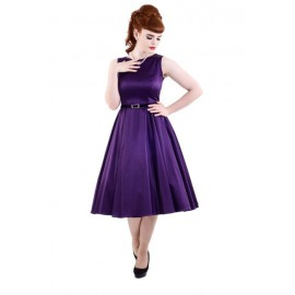 VESTITO HEPBURN - REGAL PURPLE