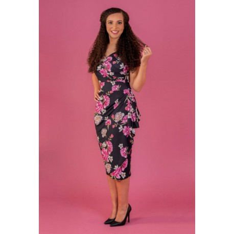 ELSIE DRESS - LUSTRE FLOWERS