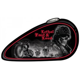 LETHAL FAST & LOUD TIN SIGN